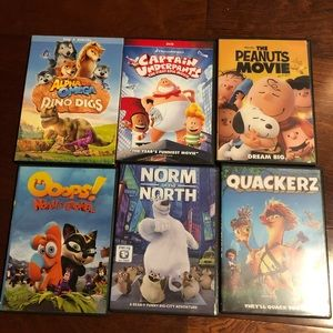 Disney 6 lots movie Dvd
